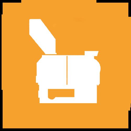 granulators circle icon