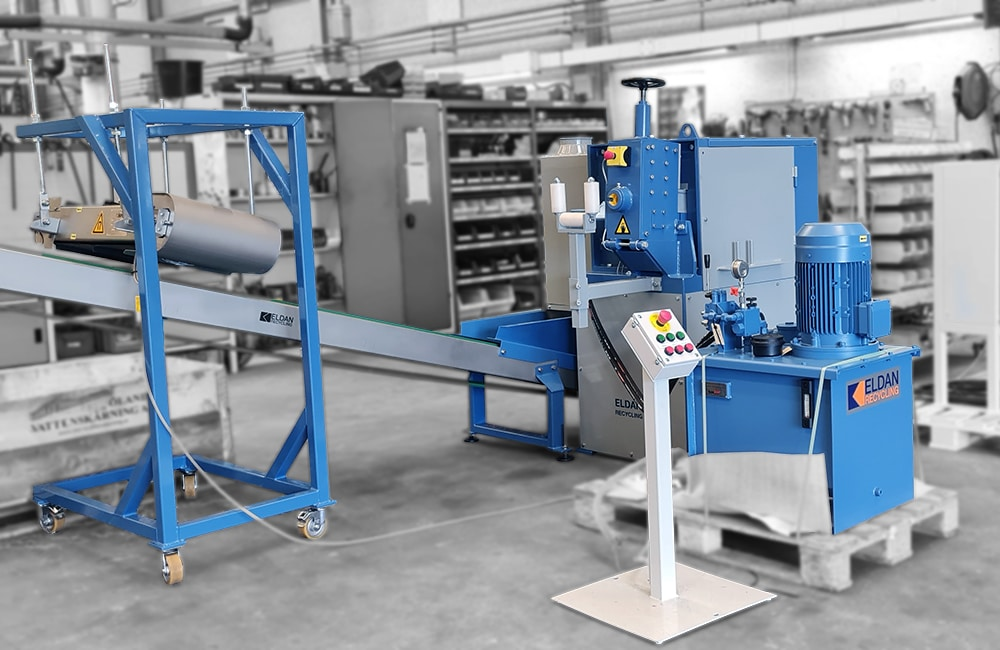 ACSR Shear in complete plant