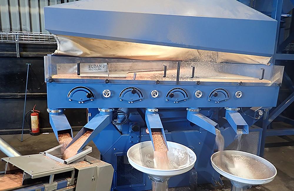 Eldan Dry Cable Plant - Separation Table