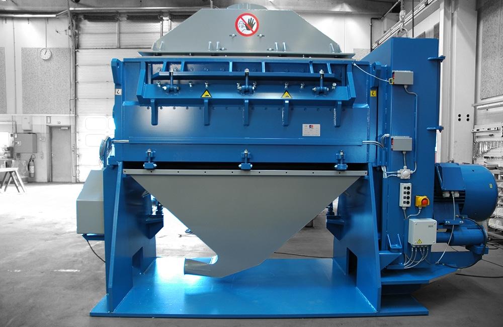 Heavy Granulator Front