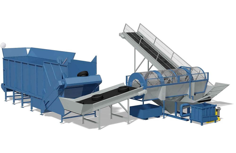 Tyre Cleaning system - Additional Equipment